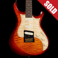 Knaggs Severn T1 Dark Cherry Burst