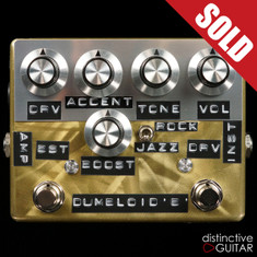 Shin's Music / Dumbloid Special Overdrive w/ Boost Trans Gold Scratch
