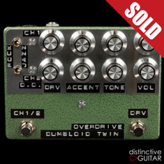 Shin's Music / Dumbloid Twin 2 Channel Overdrive Green Hammer