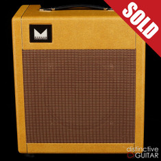Morgan PW12 Combo Amplifier Brown Tweed
