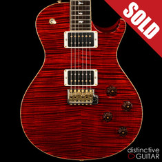 2012 PRS Willcutt Private Stock McCarty SC 245 Fire Red
