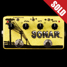 Zvex Custom Painted Vexter Sonar Tremolo - A145