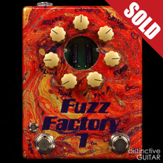Zvex Custom Painted Fuzz Factory 7 One-Off B094