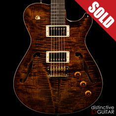 Knaggs Chena T2 Semi-Hollowbody Sunflower