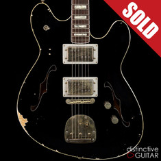 Fano Alt de Facto GF6 Semi-Hollow Bull Black