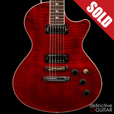 Gibson USA Custom Nighthawk Prototype Wine Red Flame