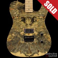 Fender NOS 2014 NAMM Masterbuilt Cabronita Buckeye Burl