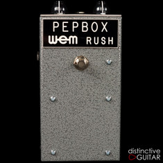 British Pedal Company 1965 Reissue Limited Pepbox WEM Fuzz