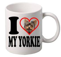 I Love My Yorkie coffee tea mugs gift