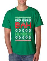Bah Humbug Christmas men T-Shirts