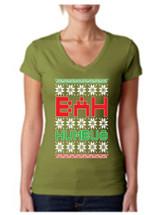 Bah Humbug Christmas Sporty Tee Shirt