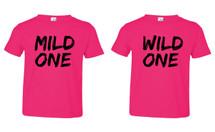 Mild One Wild One Fine Jersey Toddler T-shirts set