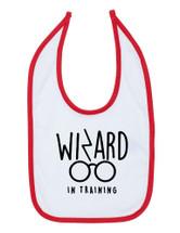 Wizard In Training Baby Bib