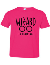 Wizard In Training Fine Jersey Toddler T-shirt