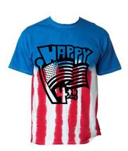 Happy 4th of july MEN tee shirt US FLAG