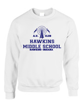 Adult Sweatshirt AV Club Hawkins Middle School Top