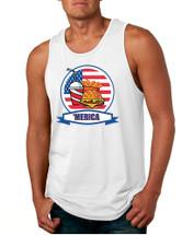 Men's Tank Top Fast Food 'merica Love America USA Top