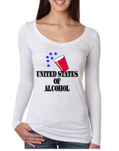 Women's Shirt United States Of Alcohol 4th Of July Shirt