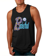 Men's Tank Top Basketball Aztec Love Sport Gym Top Fitness