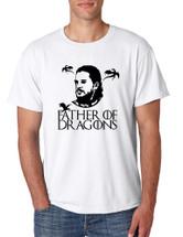 Men's T Shirt Father Of Dragons Cool Shirt Hot Gift