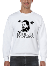 Men's Sweatshirt Father Of Dragons Cool Gift Hot Shirt