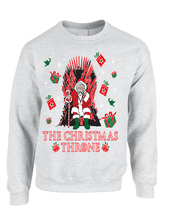 Adult Sweatshirt The Christmas Throne Santa Best Ugly Xmas Top