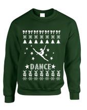 Adult Sweatshirt Dance Ugly Xmas Love Dancing Shirt Cute Gift
