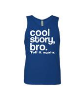 Cool Story bro. tell it again Men's Jersey Tank Top