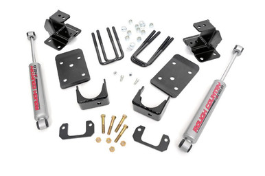 """2014 Chevy/GMC 1500 2WD 2""""/4"""" Lowering Kit"""