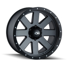 ION 134 Matte Gunmetal/Black Beadlock 17x8.5 5-139.7 -6mm 108mm