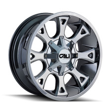 Cali Off-Road Anarchy PVD2 Chrome 22X12 6-135/6-139.7 -44mm 108mm