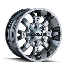 Cali Off-Road Dirty Chrome 20X9 5-127/5-139.7 18mm 87mm