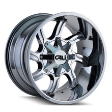 Cali Off-Road Twisted Chrome 20X14 6-135/6-139.7 -76mm 108mm