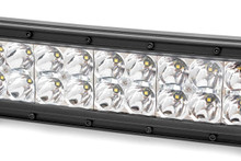 12-IN Cree LED Light Bar (Dual Row / Chrome Series w/ Cool White DRL)