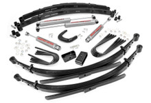 6in GM Suspension Lift System (56in Rear Springs)(1988-91 Chevy/GMC)(12/ Ton Suburban/Blazer/Jimmy)