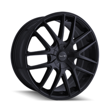 Touren TR60 Full Matte Black 17x7.5 5-127 42mm 72.62mm