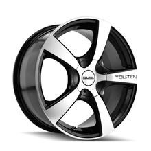 Touren TR9 Black/Machined Face 18X8 5-127 40mm 72.62mm