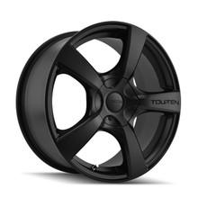Touren 3190 Matte Black 17X7 5-114.3/5-120 20mm 72.62mm