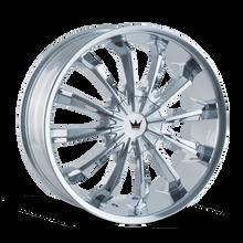 Mazzi 341 Fusion Chrome 22X9.5 5-114.3/5-120 35mm 74.1mm
