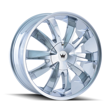 Mazzi 337 Edge Chrome 20X8.5 5-112/5-120 35mm 74.1mm