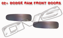 02-06 Dodge Ram AVS Shaved Door Handle Filler Plate (Front Doors)