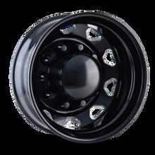 IONBILT IB02 Rear Black/Milled Spokes 22.5X8.25 10-285.75 169mm 220.1mm