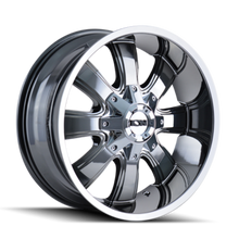 ION 189 PVD2 Chrome 20X10 8-165.1/8-170 -19mm 130.8mm