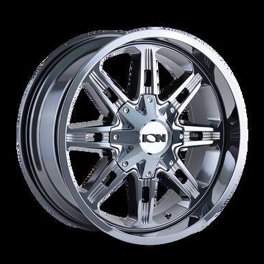 Ion 184 PVD2 Chrome 20X9 8-180 18mm 124.1mm