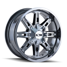 Ion 184 PVD2 Chrome 17X9 5-114.3/5-127 -12mm 87mm