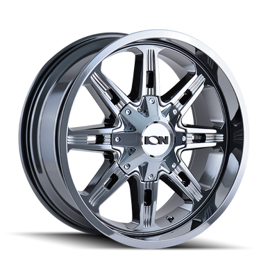 Ion 184 PVD2 Chrome 18X9 8-165.1/8-170 -12mm 130.8mm