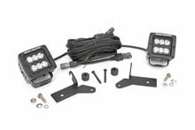 Jeep 2-Inch LED Lower Windshield Kit (18 Wrangler JL) Black Series