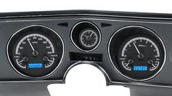 1969 Chevy Chevelle/El Camino VHX Instruments w/ Analog Clock