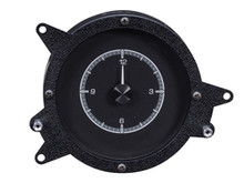 1969- 70 Ford Mustang Clock for HDX Instruments with Black Alloy background