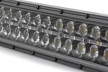 50-IN Cree LED Light Bar (Dual Row / Black Series w/ Amber DRL)